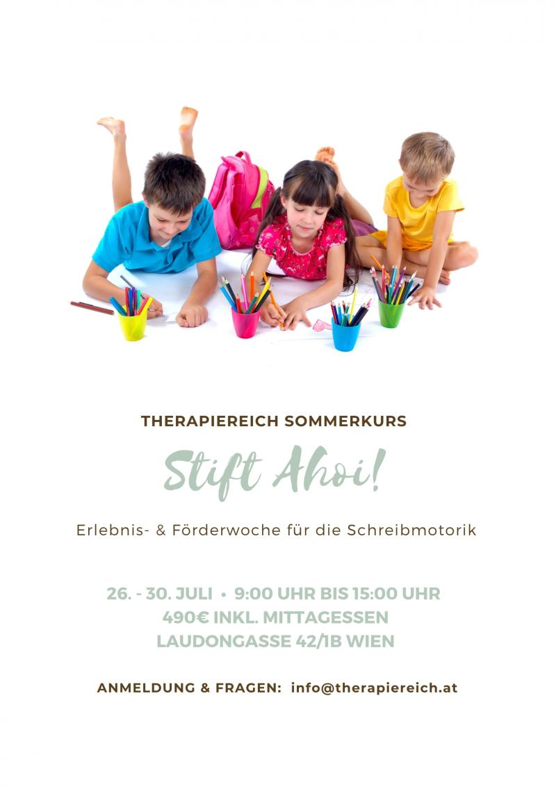 Sommercamp Stift Ahoi